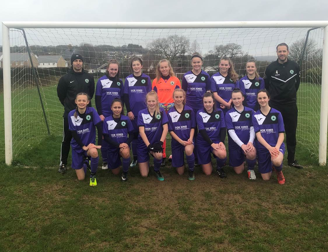 Ivybridge Town Football Club U14 Girls team